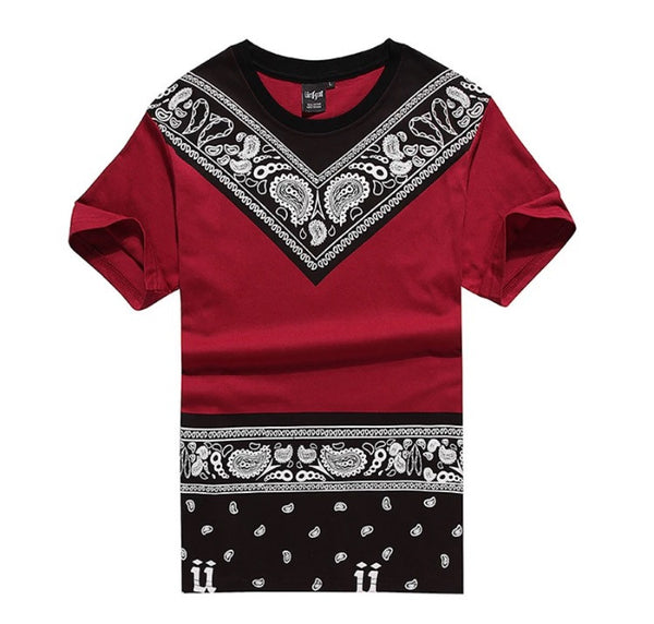 Bandana Nights Shirt Red