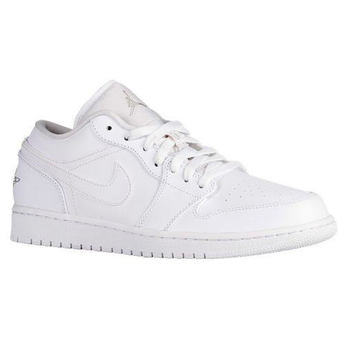 Air Jordan 1 Low White Metallic Silver