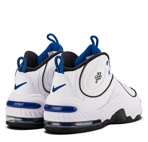 Nike Air Penny II White Blue Metallic Silver Black Varsity Royal