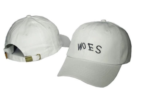 Woes Dad Hat White