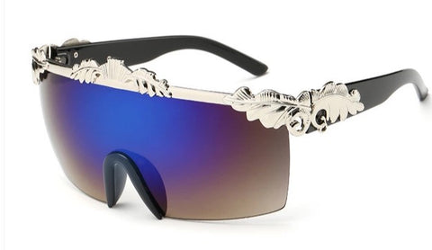 El Matador Sunglasses Black Silver Polarized
