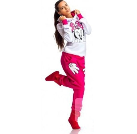 Minnie Mouse Sweatsuit Red