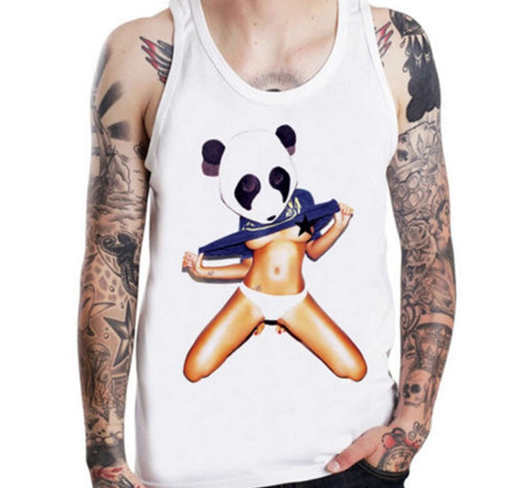 Panda Party Tanktop