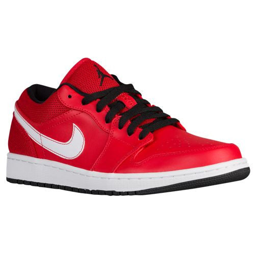 Air Jordan 1 Low University Red Black White