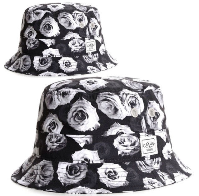 Cayler & Sons White Roses Bucket Hat