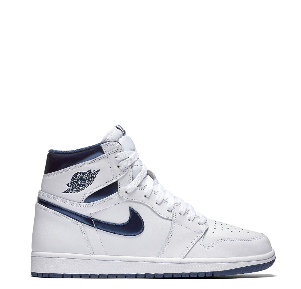 Air Jordan 1 Retro High OG-White Midnight Navy