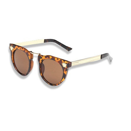Dope Metal Head Sunglasses Tortoise