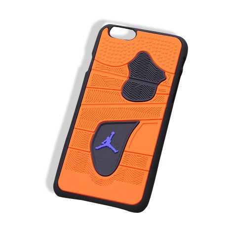 Jordan 4 iPhone 6+ Cases Orange