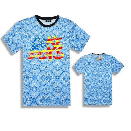 Coke Boys USA Floral T-Shirts Wallpaper