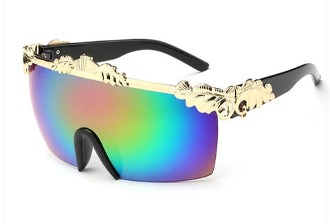 El Matador Sunglasses Black Gold Polarized