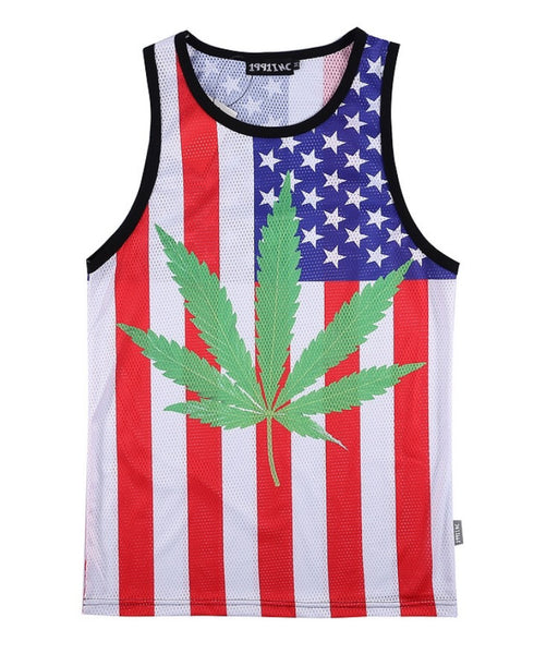 United States of Pot Tanktop