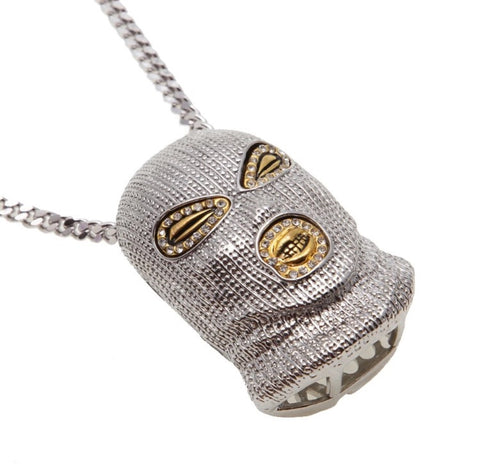 The Goon Silver Pendant and Necklace