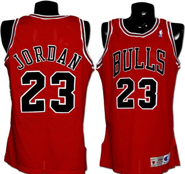 Chicago Bulls Michael Jordan Throwback #23 Jersey Away