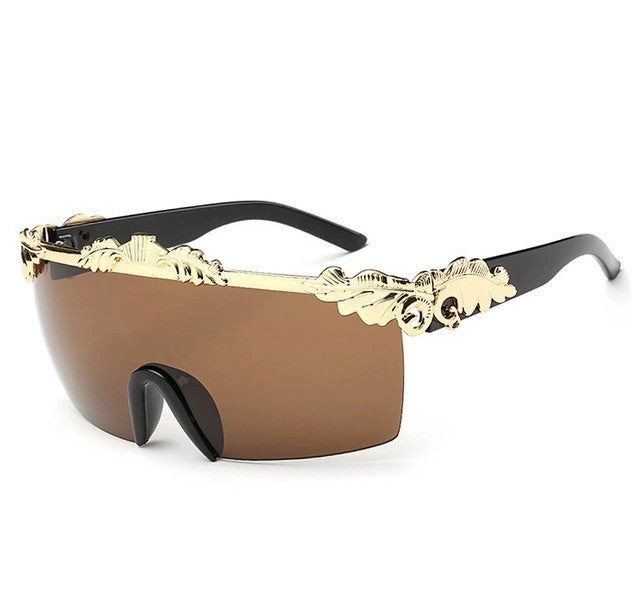 El Matador Sunglasses Black Gold