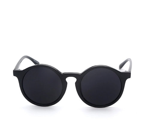 Street Fly Circle Shades Black