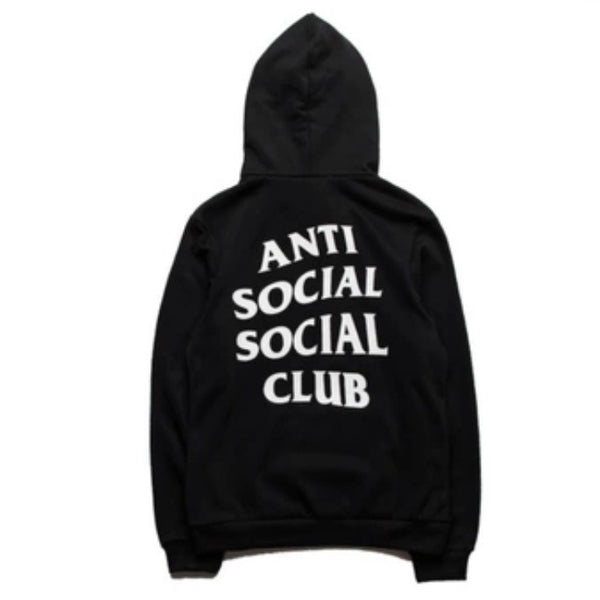 Anti-Social Social Club Hoodies Black