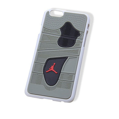 Jordan 4 iPhone 6+ Cases Grey