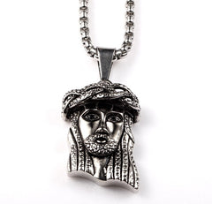 Jesus Is My Homeboy Silver Necklace