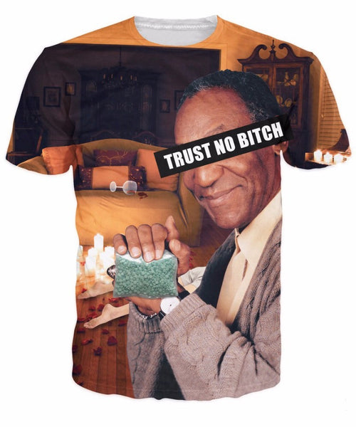 Bill Cosby Trust No Bitch T-Shirt