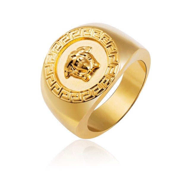Versace Style Men s Ring – yx Hearts