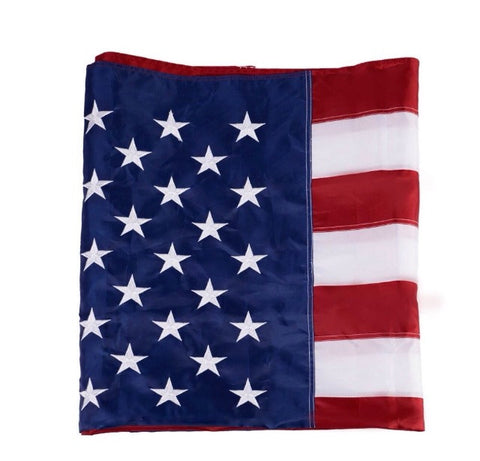 Premium Embroidered American Flag