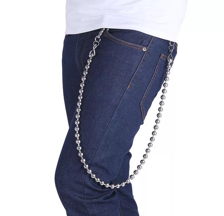 Silver Wallet Chain