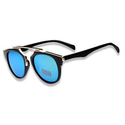 Cat Eye Polarized Lense Sunglasses Blue