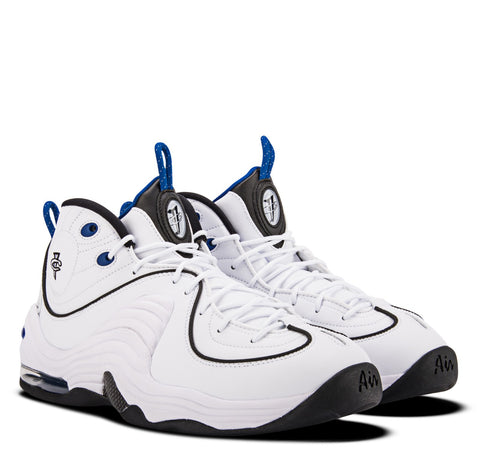 Nike Air Penny II White Silver Black Varsity Royal