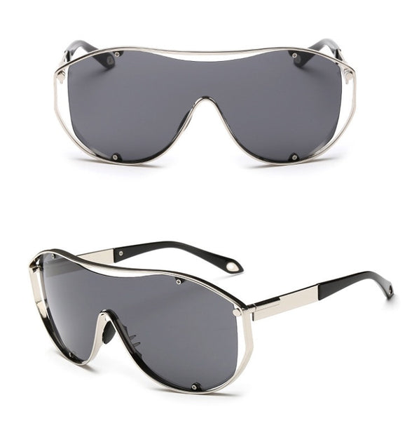 Exhaust Invisible Set Sunglasses Black
