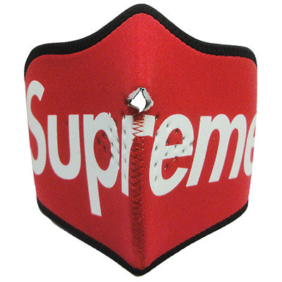 Red SUPREME Face Mask