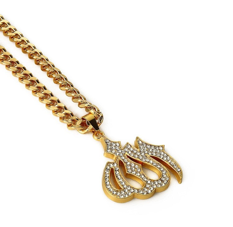 Allah 18K Gold Plated Necklace