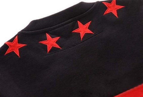 Star Bred Streetwear Sweatshirt Rear Collar View