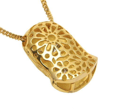The Goon Gold Pendant and Necklace