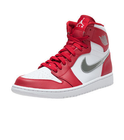 Air Jordan 1 Retro High Gym Red Metallic Silver Coin White