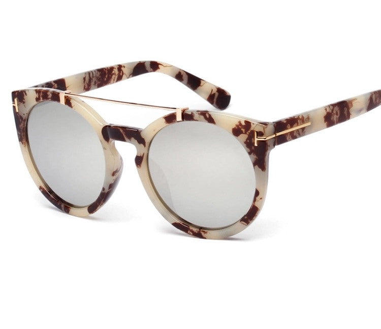 Onyx Hearts Continental Sunglasses