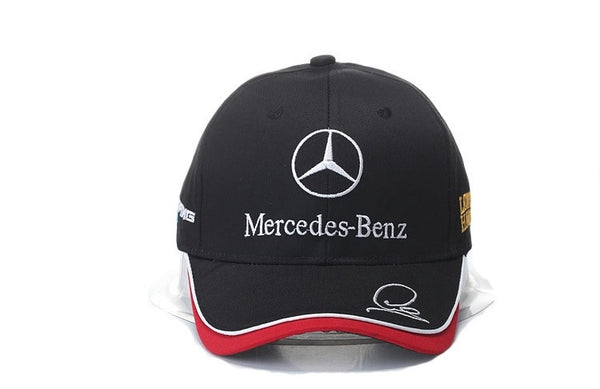 Mercedes Benz Racing Dad Hat Black Red