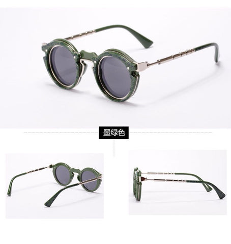 Oculus Punk Sunglasses Green
