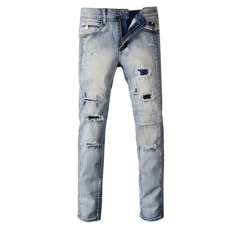 Distressed & Torn Streetwear Jeans