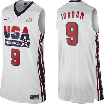 Michael Jordan Dream Team Home Jersey