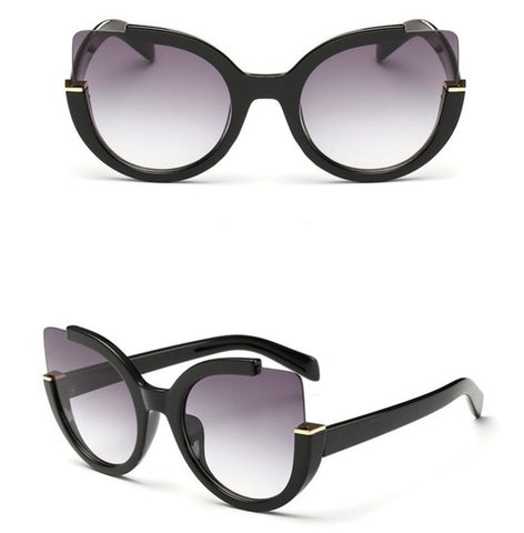 Cateye Contemporary Sunglasses