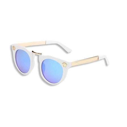 Dope Metal Head Sunglasses White