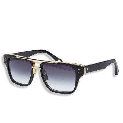 Hood Star Unisex Concrete Sunglasses Black Lense