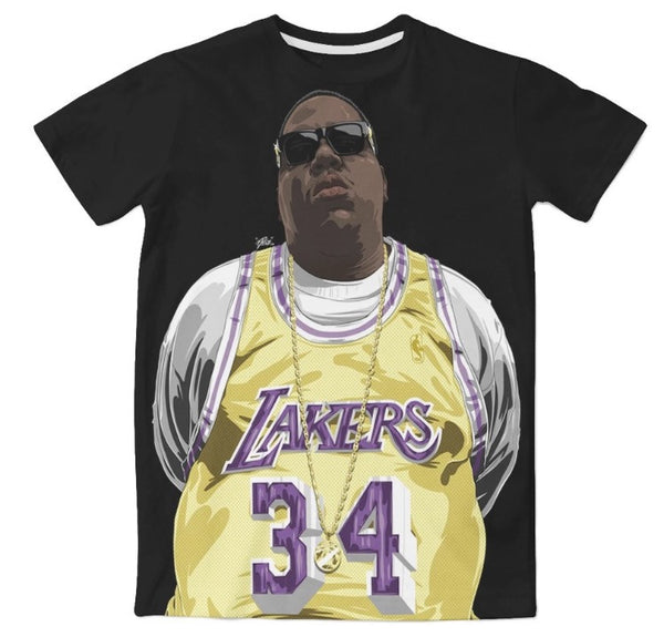 Notorious BIG Lakers Shirt