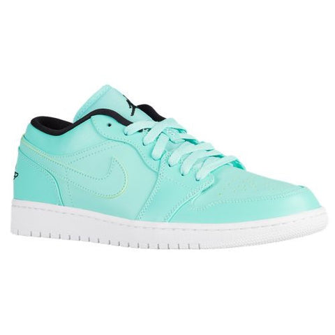Air Jordan 1 Low Hyper Turquoise Black White