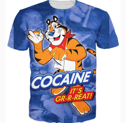 Cocaine 'It's Great!' T-Shirt