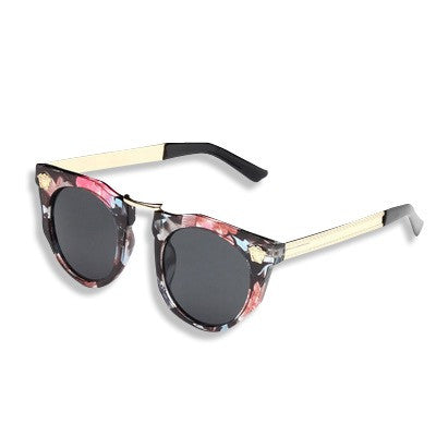 Dope Metal Head Sunglasses Floral