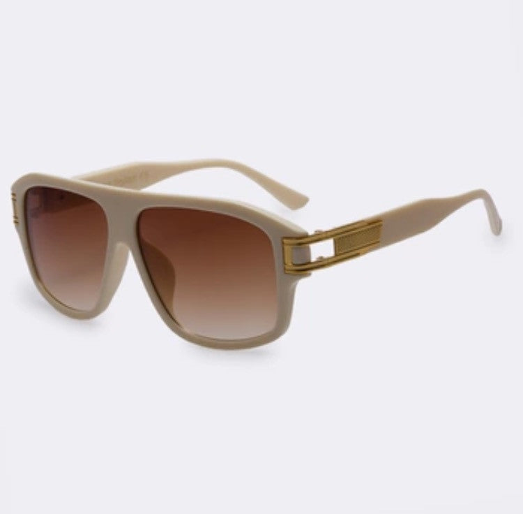 The Corleone Sunglasses White