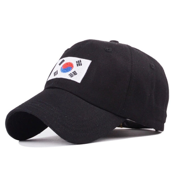 We Are Street Korea Dad Hats Black