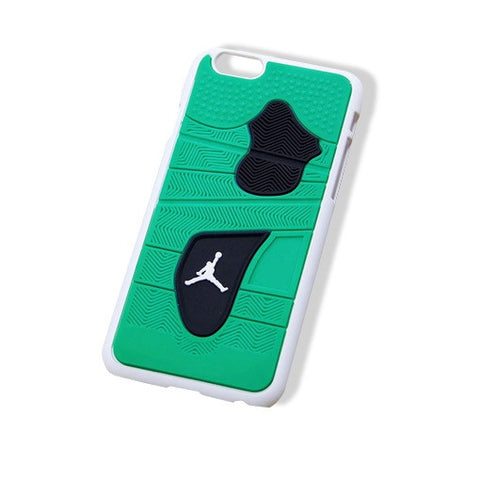 Jordan 4 iPhone 6+ Cases Green
