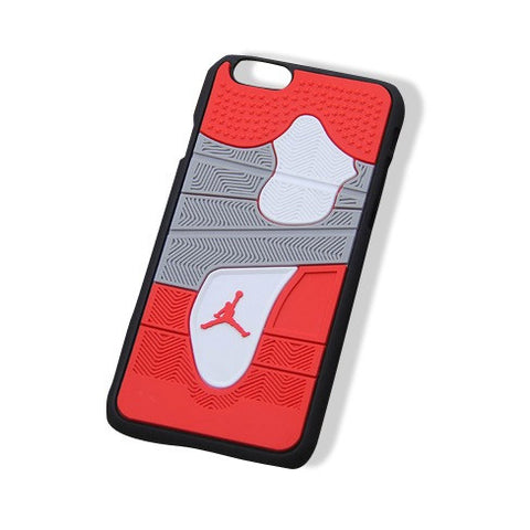 Jordan 4 iPhone 6+ Cases Red